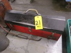 TOOL BOX WITH SOCKETS AND WRENCHES