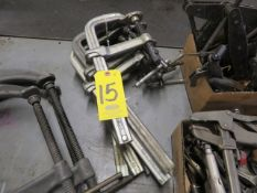 (6) BESSEY AND WILTON L-SHAPED CLAMPS