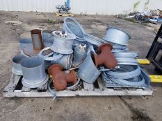 Pallet of Duct work parts & other Items