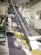 Incline Conveyor for Rework & Parts to 1st Pre-Chill