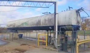 50-Ton CO2 Tank - Bidding opens Monday November 16, 2020