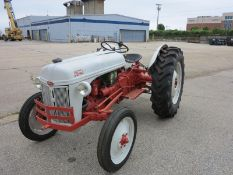 1958 Ford Tractor -Restored- New Starmax 12.4-28 TR-60 Rear Tires Galaxy 4.0-19 Front Tires,