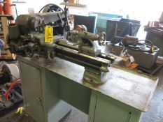 Southbend Model A Cabinet Lathe, S/N 31255KAX 1/2HP 3 Ph Motor