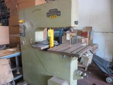 Kalamazoo Startrite Model 30-R-10 Vertical Band Saw S/N 3849T 220V 3 Phase with Welding Attachment