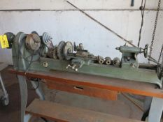 Walker Turner Wood Lathe with Accessories