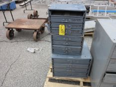Lot (3) Cabinets with Fastners