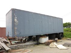 1987 US Air Force Pup Trailer, VIN V13014FB092024. Bill of Sale Only.