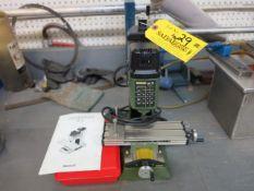 Proxxon MF70 High Speed Bench Top Drill Location: Elmco Tool 3 Peter Rd Bristol, RI