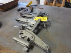 Lot Table Clamps and Twist Clamps Location: Elmco Tool 3 Peter Rd Bristol, RI