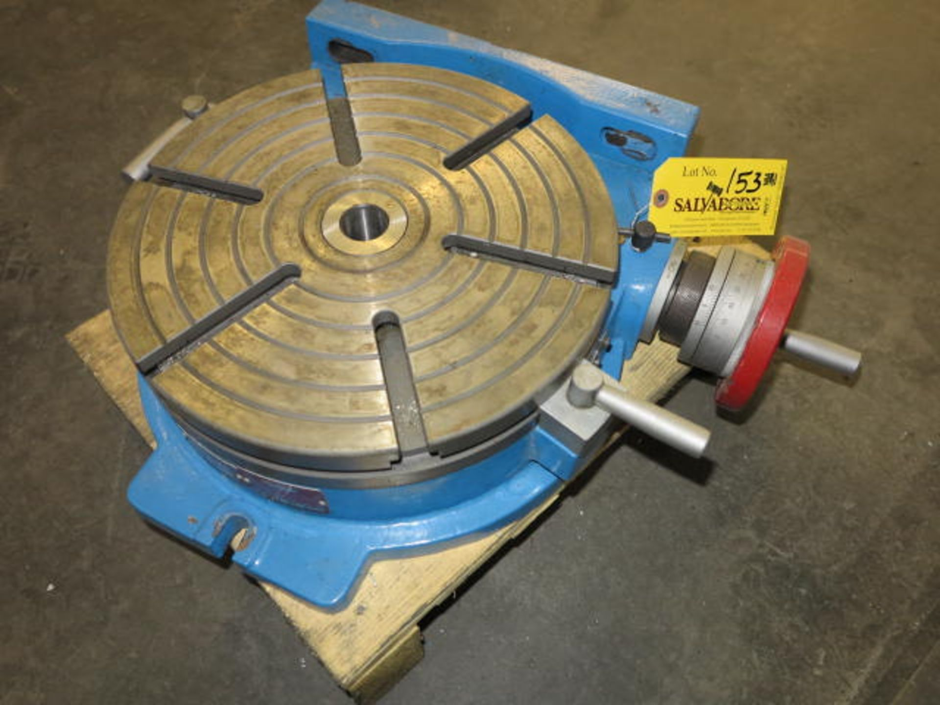 Lot 153 - SharsTool Co 14'' Precision Rotary Table Location: Elmco Tool 3 Peter Rd Bristol, RI