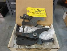 (2) Knurl Craft Scissor Type Knurl Tools 2'' and 4'' Capacity Location: Elmco Tool 3 Peter Rd