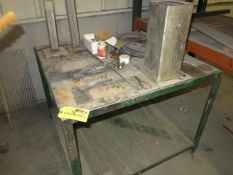 3' x 3' Welding Table Location: Elmco Tool 3 Peter Rd Bristol, RI