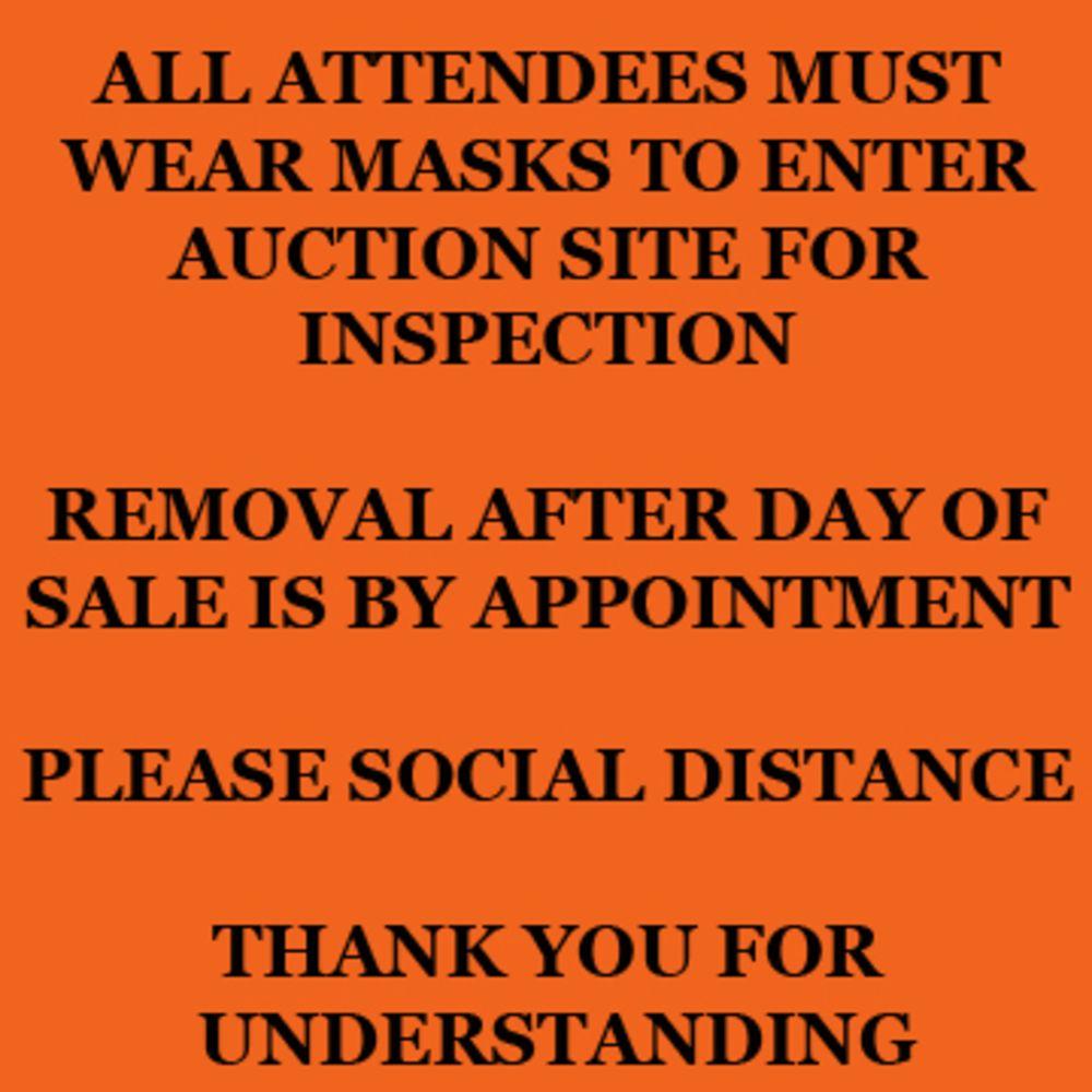 Retirement Auction: Multi Location CNC Mills & Turning Centers, CNC Press Brakes & Turret Punch, Machine Shop, Welding