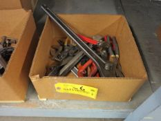 Boxed Lot Pliers and Adjustable Wrenches Location: Elmco Tool 3 Peter Rd Bristol, RI