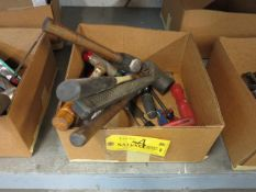 Boxed Lot Hammers and Mallots Location: Elmco Tool 3 Peter Rd Bristol, RI