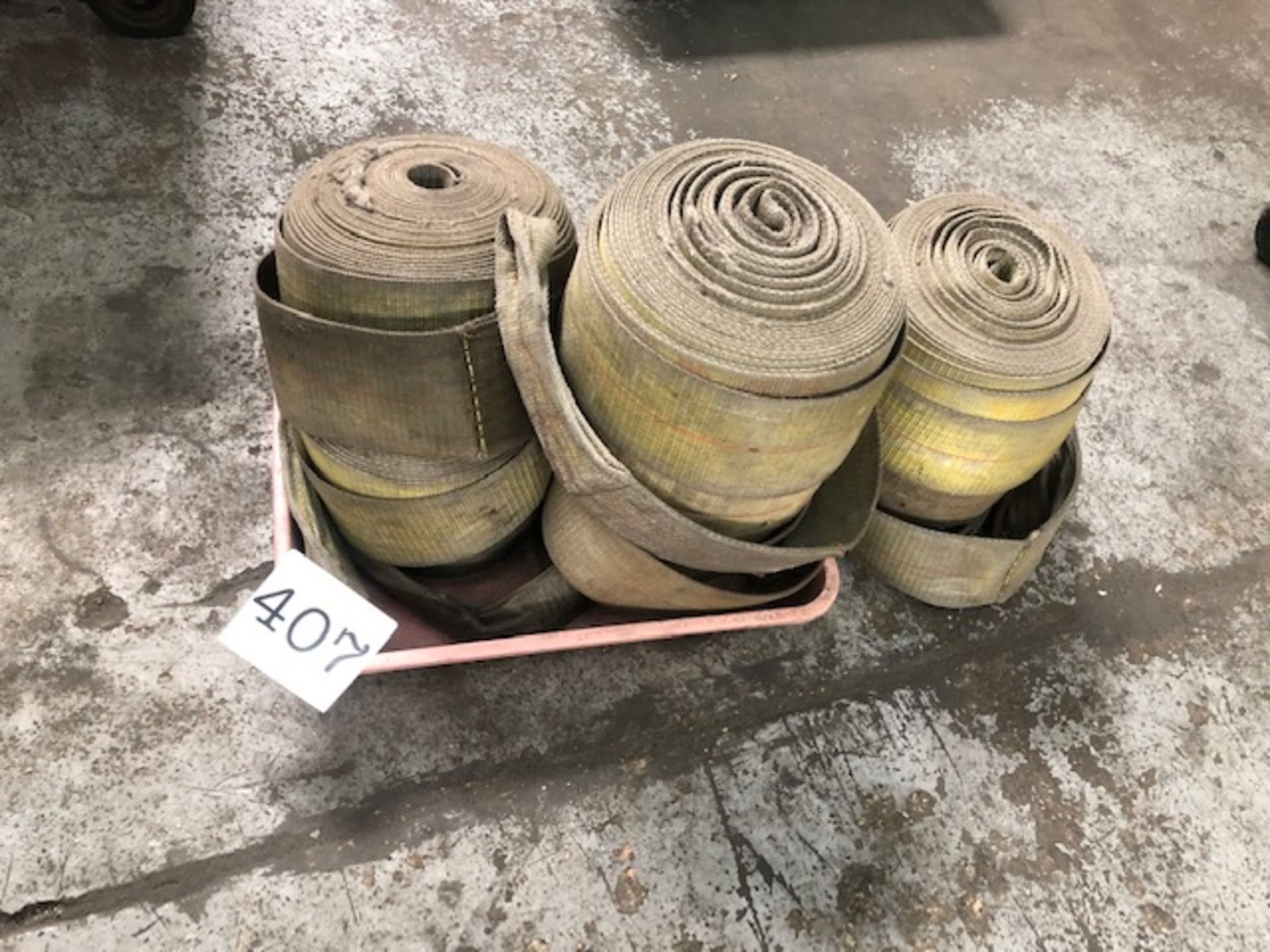 Lot 407 - Assorted Straps