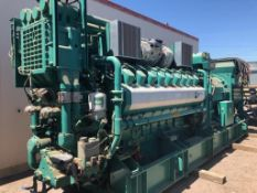 QSV81/91G Natural Gas Generator (48,000lbs), 1 Heat Exchanger/Radiator, 2 Electrical Cabinets, 4