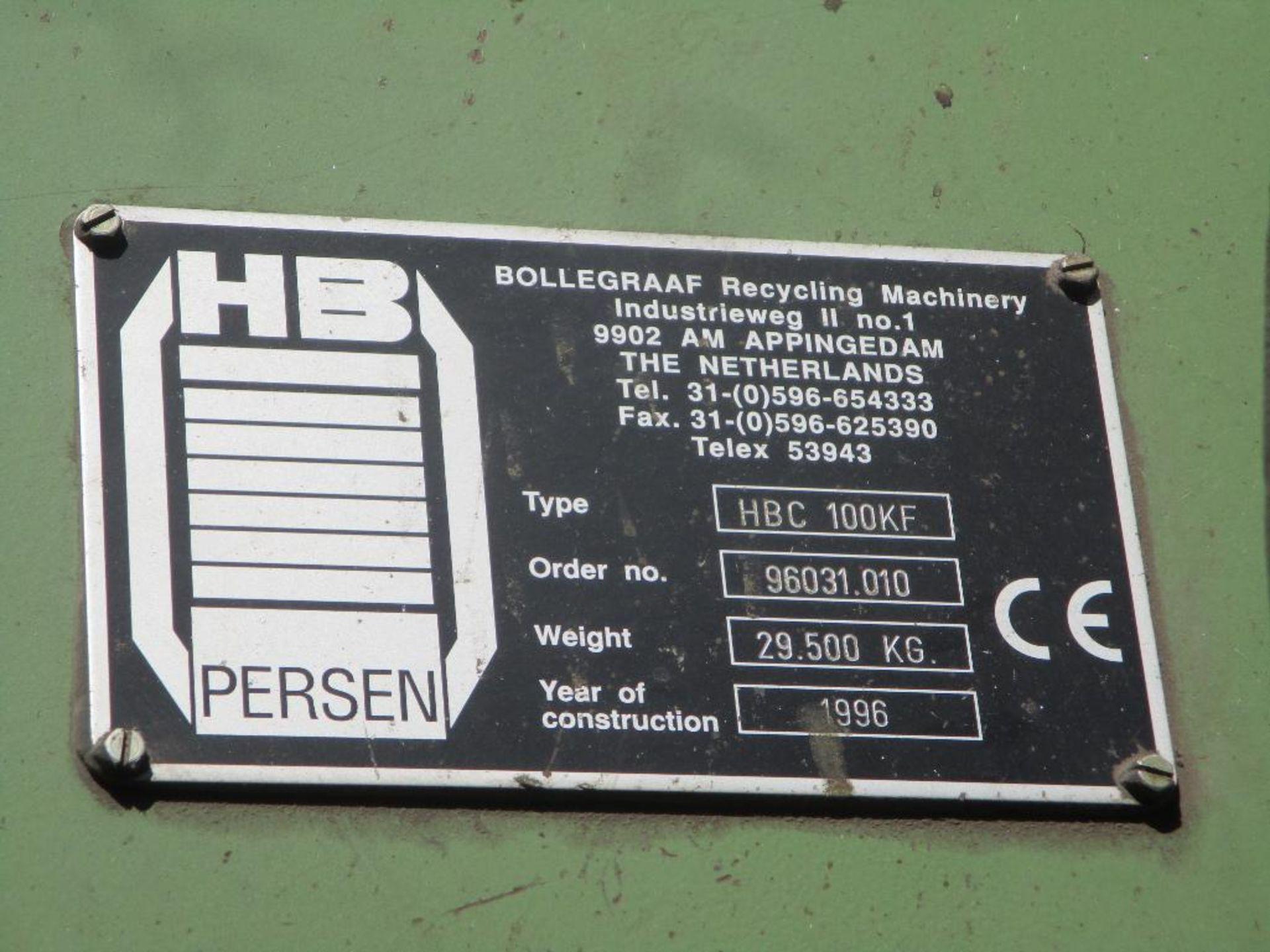 Bollegraaf HBC 100KF Bale Press - Image 19 of 20
