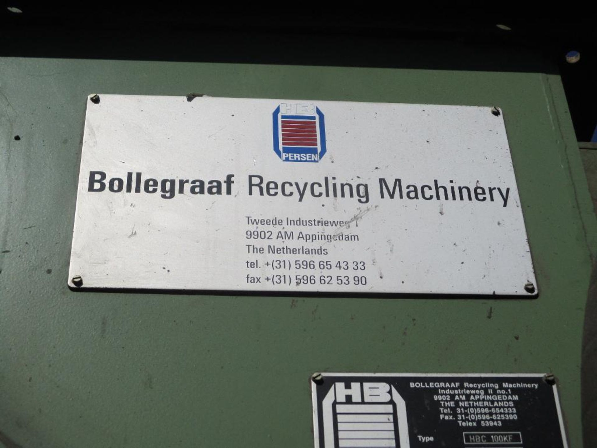 Bollegraaf HBC 100KF Bale Press - Image 20 of 20