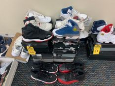 PAIR NIKE AIR JORDAN - ASSORTED STYLES - YOUTH / SIZE 6-7