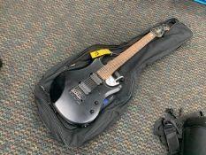 MUSIC MAN STERLING 7-STRING GUITAR - SERIAL No. SB16084