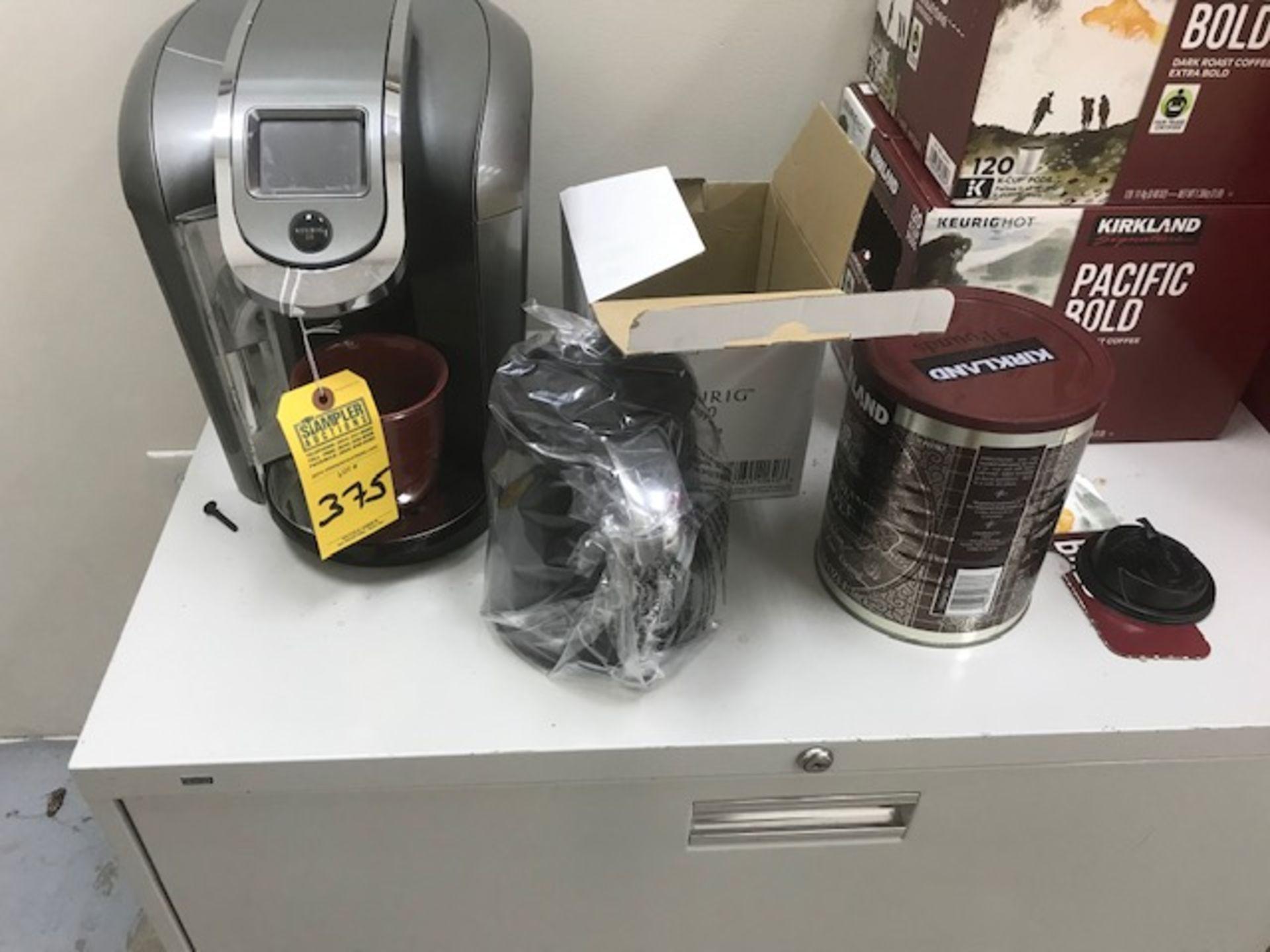 Lot 375 - KEURIG 2.0 COFFEE MACHINE WITH CARAFE
