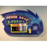 POWER DEEP EXTREME POWER BONUS SIGN WITH HEAT WAVE SIGN