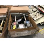 PIECES - 2- INSTAPAK FOAM RECYCLING HEADS (PART A) / 2- INSTAPAK FOAM RECYCLING HEADS (PART B) /