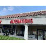 """STORE FRONT SIGNAGE - """"ALTERATIONS & DRY CLEANING"""""""