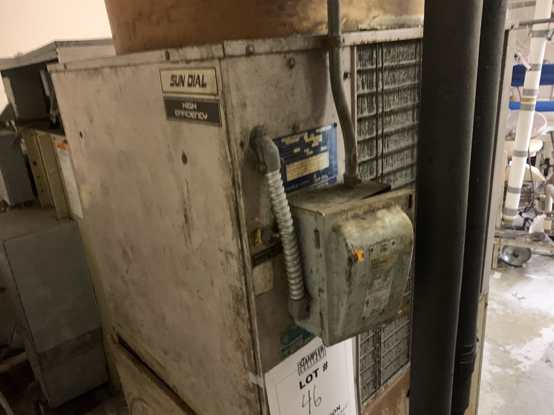 Lot 46 - RITE-TEMP RTS-600ANC LIQUID CHILLER SYSTEM - 230 VOLT / 3 PHASE - SERIAL No. D001861846