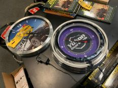 WALL CLOCKS WITH ADVERTISING