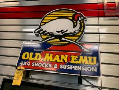 OLD MAN EMU METAL SIGN