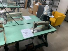 UNISEW DSN-178-2 SEWING MACHINE WITH MOTOR, STAND & LIGHT