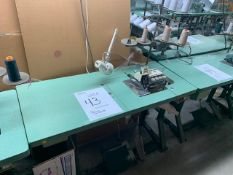 JUKI MO2512 CLASS DD6-500 SEWING MACHINE WITH MOTOR, STAND & LIGHT