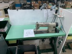 UNISEW DB-130E SEWING MACHINE WITH MOTOR, STAND & LIGHT