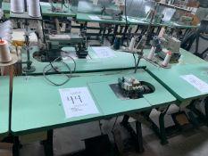 JUKI MO812 CLASS DD6 SEWING MACHINE WITH MOTOR & STAND