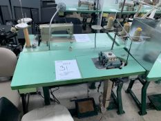 JUKI M0804 CLASS OF 6 SEWING MACHINE WITH MOTOR & STAND