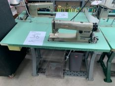 UNISEW DSN-178-2 SEWING MACHINE WITH MOTOR & STAND
