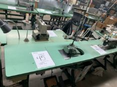 YAMATO DCZ-521-02 SEWING MACHINE WITH MOTOR & STAND