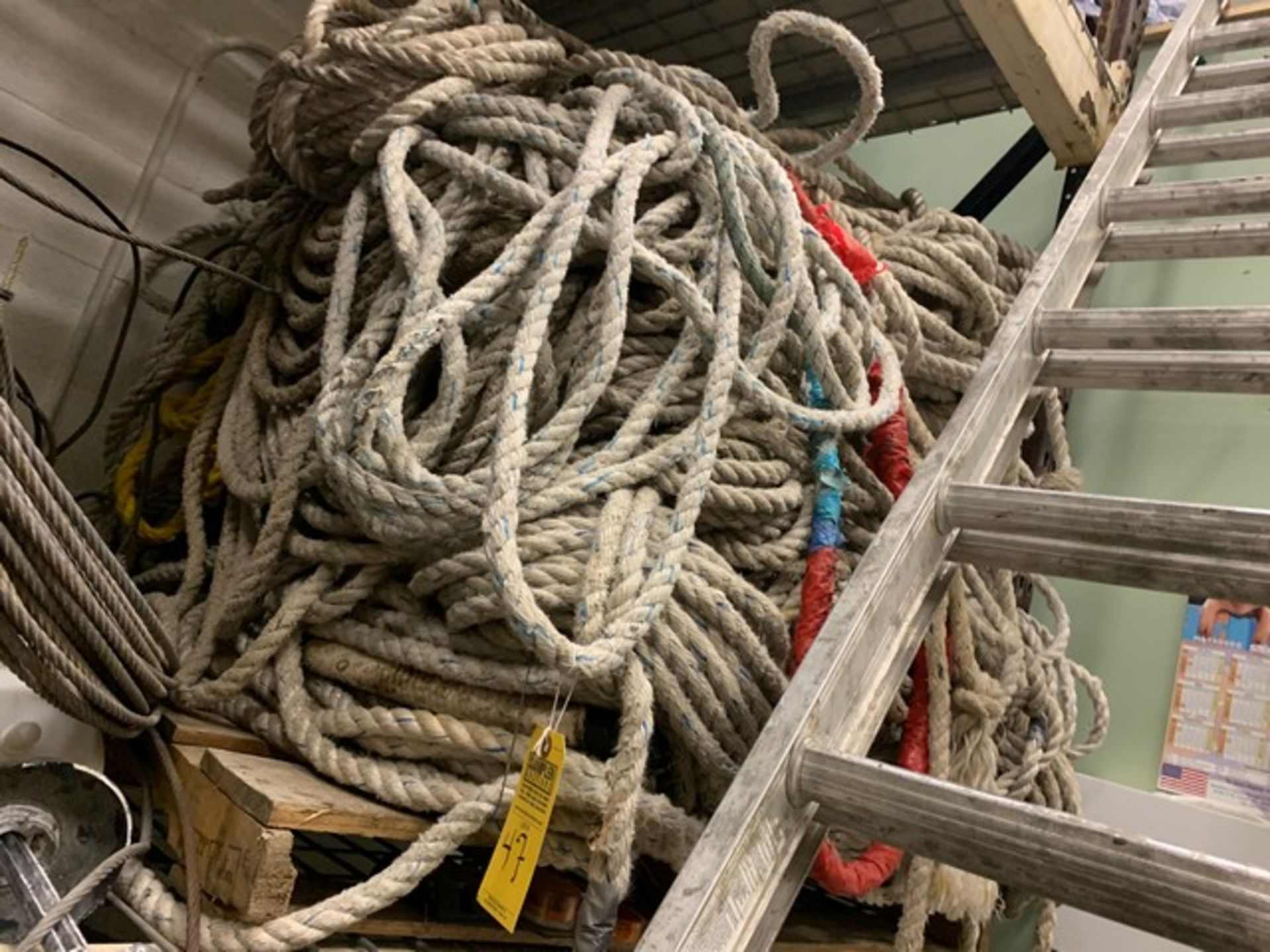 Lot 47 - LARGE LOT SAFETY ROPE