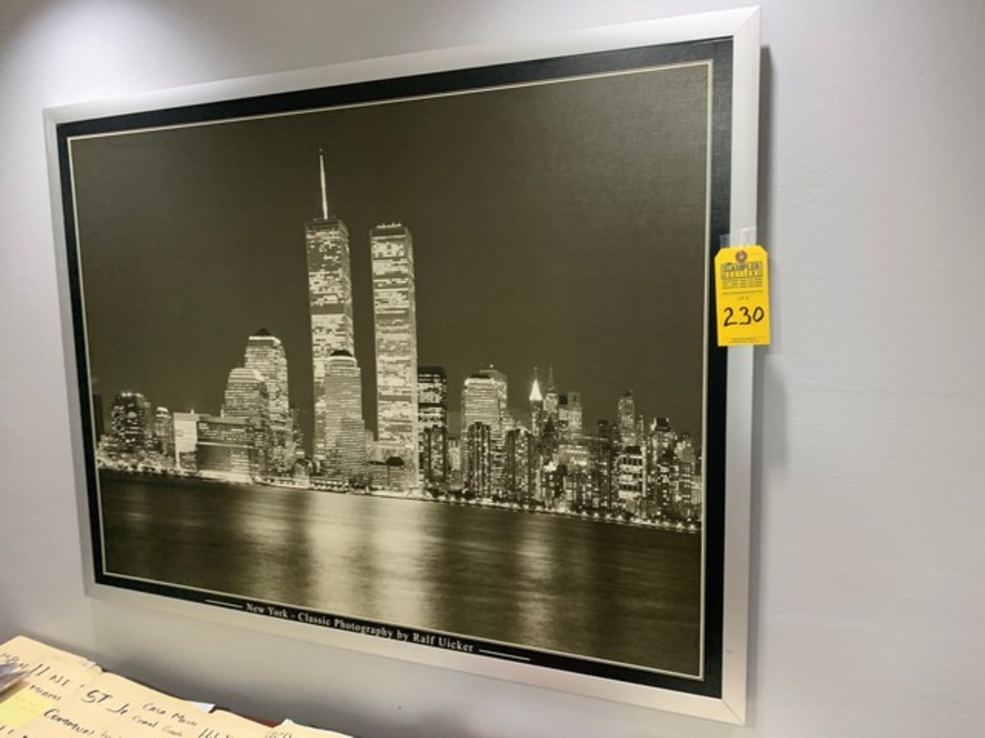 Lot 230 - ARTWORK - NEW YORK CITY