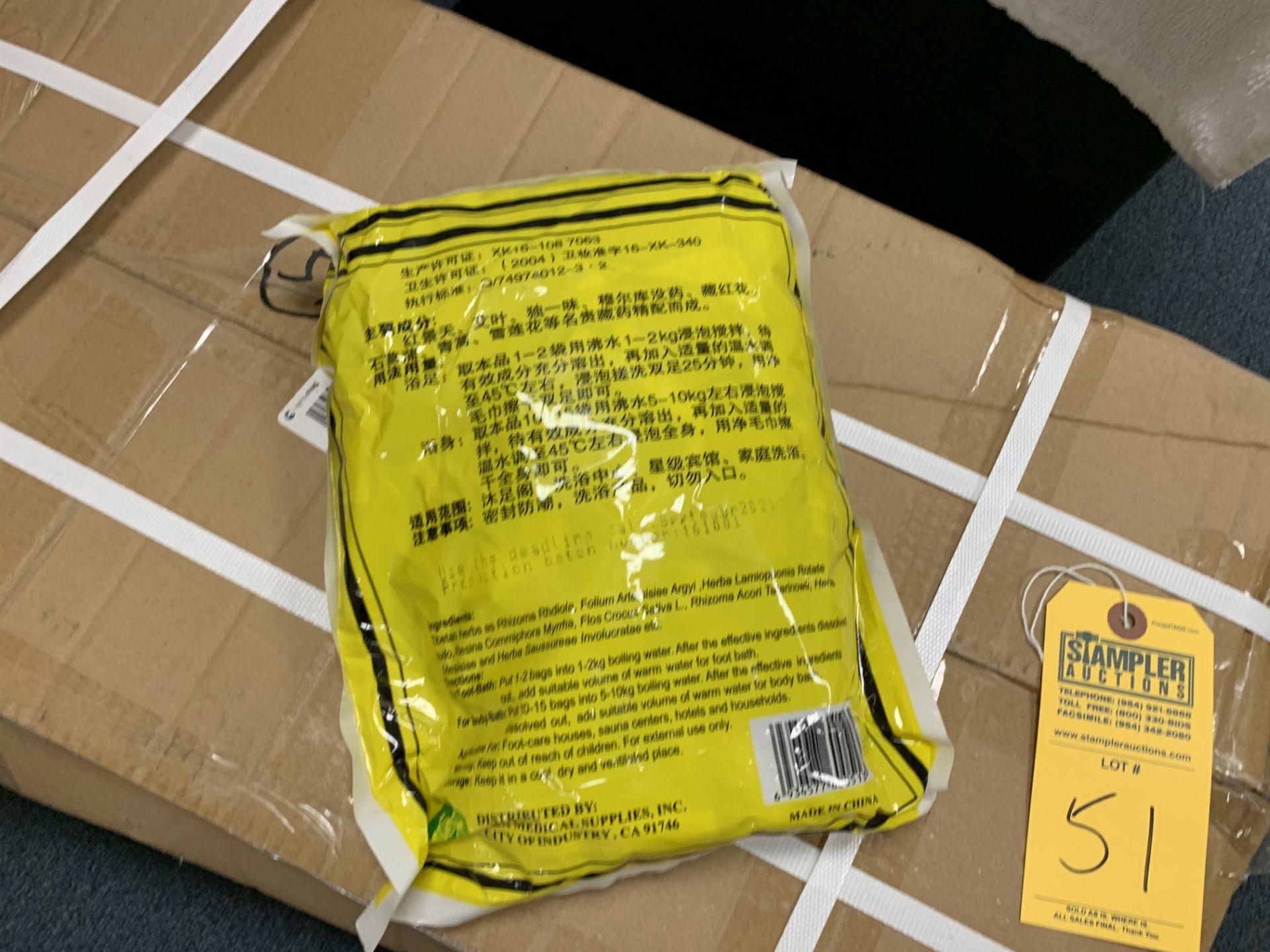 Lot 351 - LOT / BOX EVERSPRING BATH POWDER / TEA BAGS