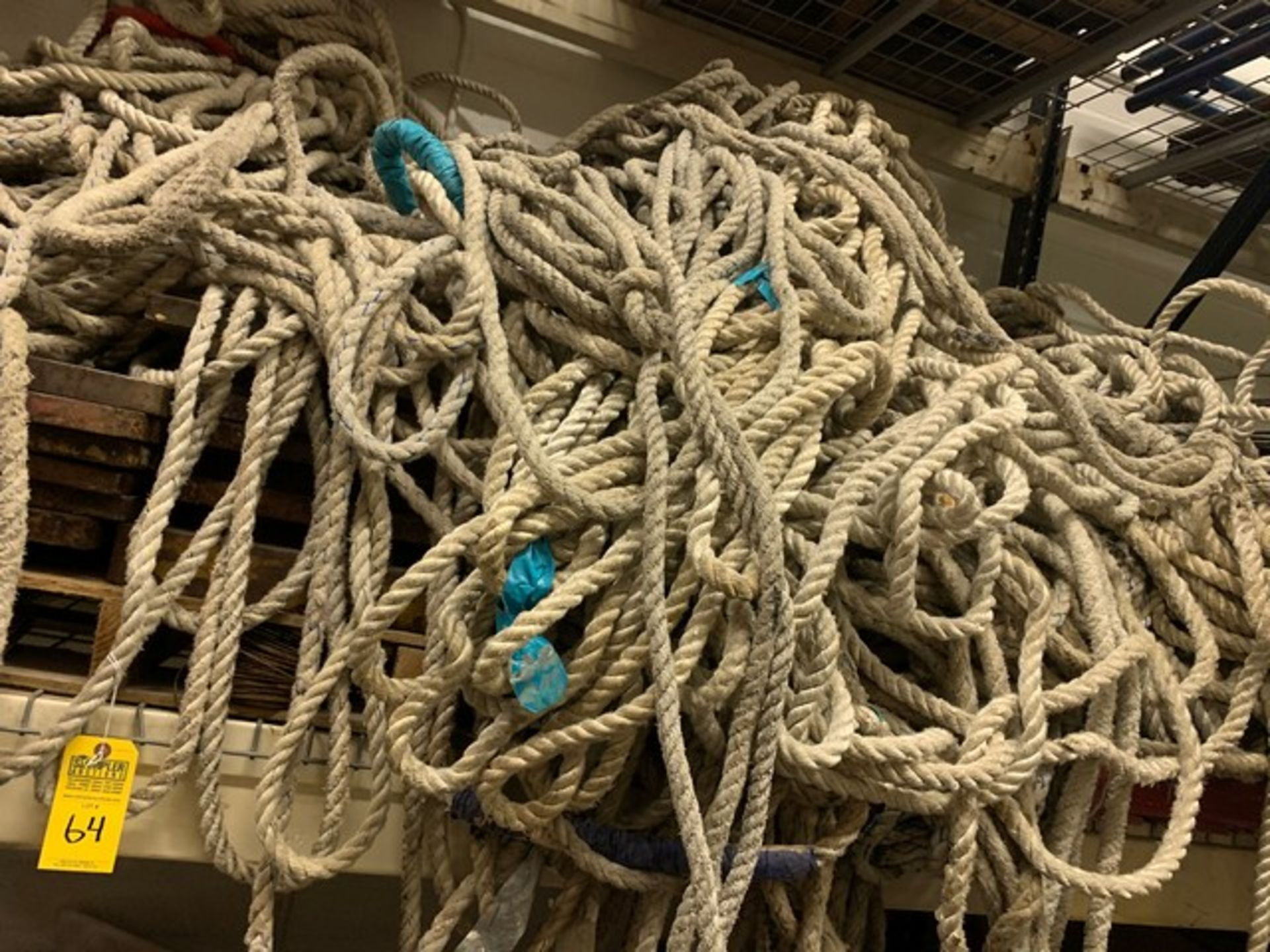 Lot 64 - LARGE LOT SAFETY ROPE