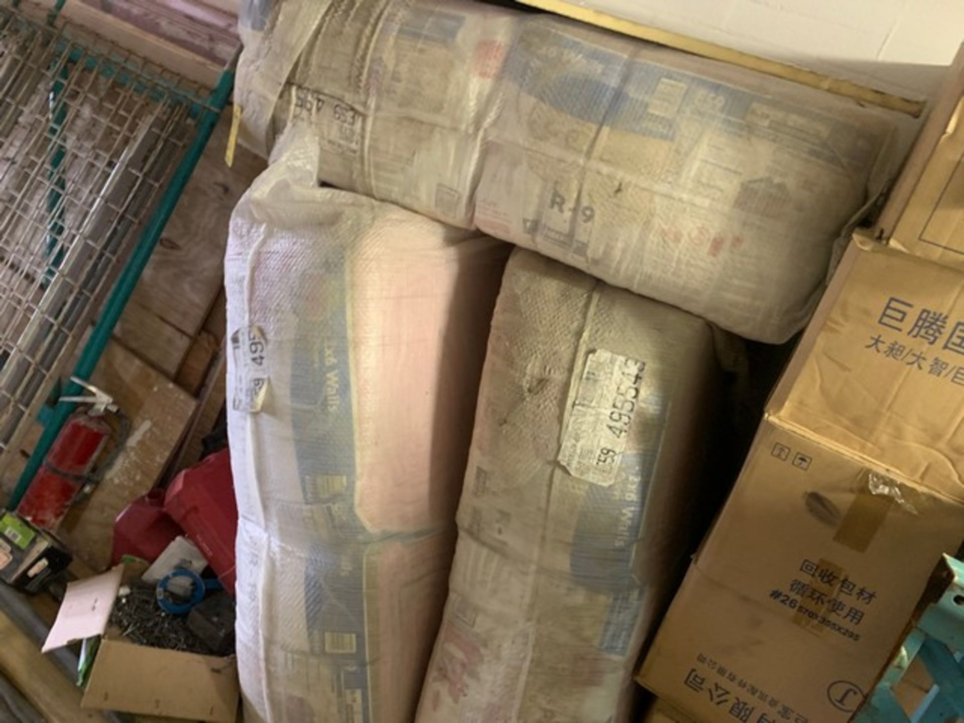 Lot 211 - LOT ASSORTED INSULATION, INSULATION PANELS, ETC (ON LOFT)