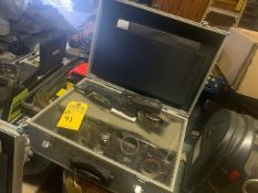 MBX SURFACE TECHNOLOGIES 3500X BLASTER WITH CASE & ASSORTED ATTACHMENTS