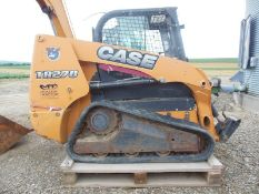 2012 Case Compact Tract Loader Model TR270VCTL, S/N JAFTR270HCM460266, Missing Front Door, Front