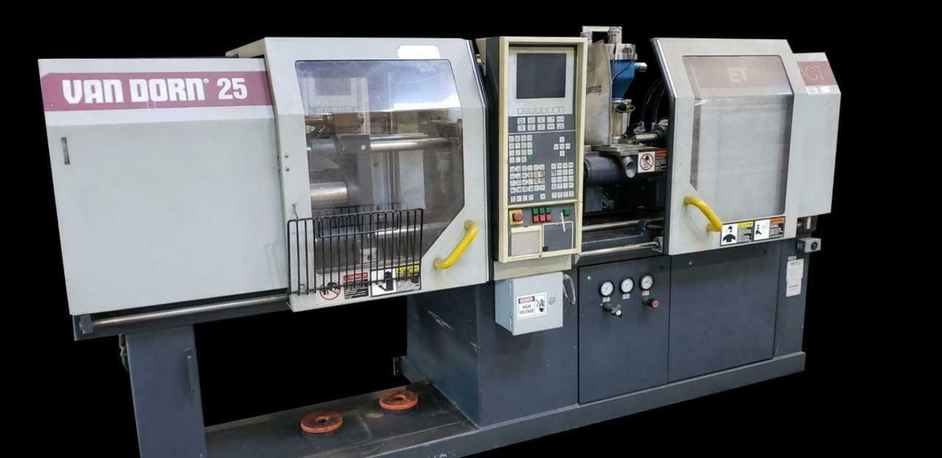 Lot 303D - (1995) VAN DORN 250-80 30 TON ERGO-TECH COMPACT INJECTION MOLDING MACHINE (MACHINE LOCATED AT