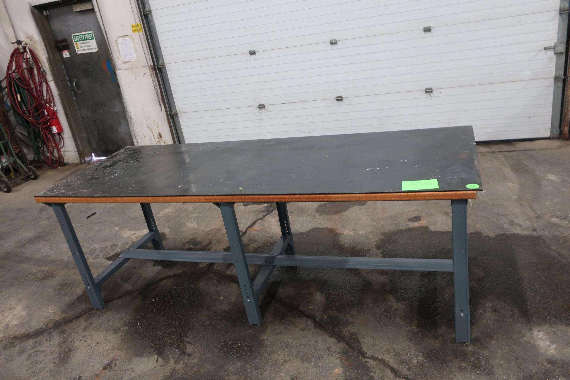 Lot 305 - Heavy Duty Work Table