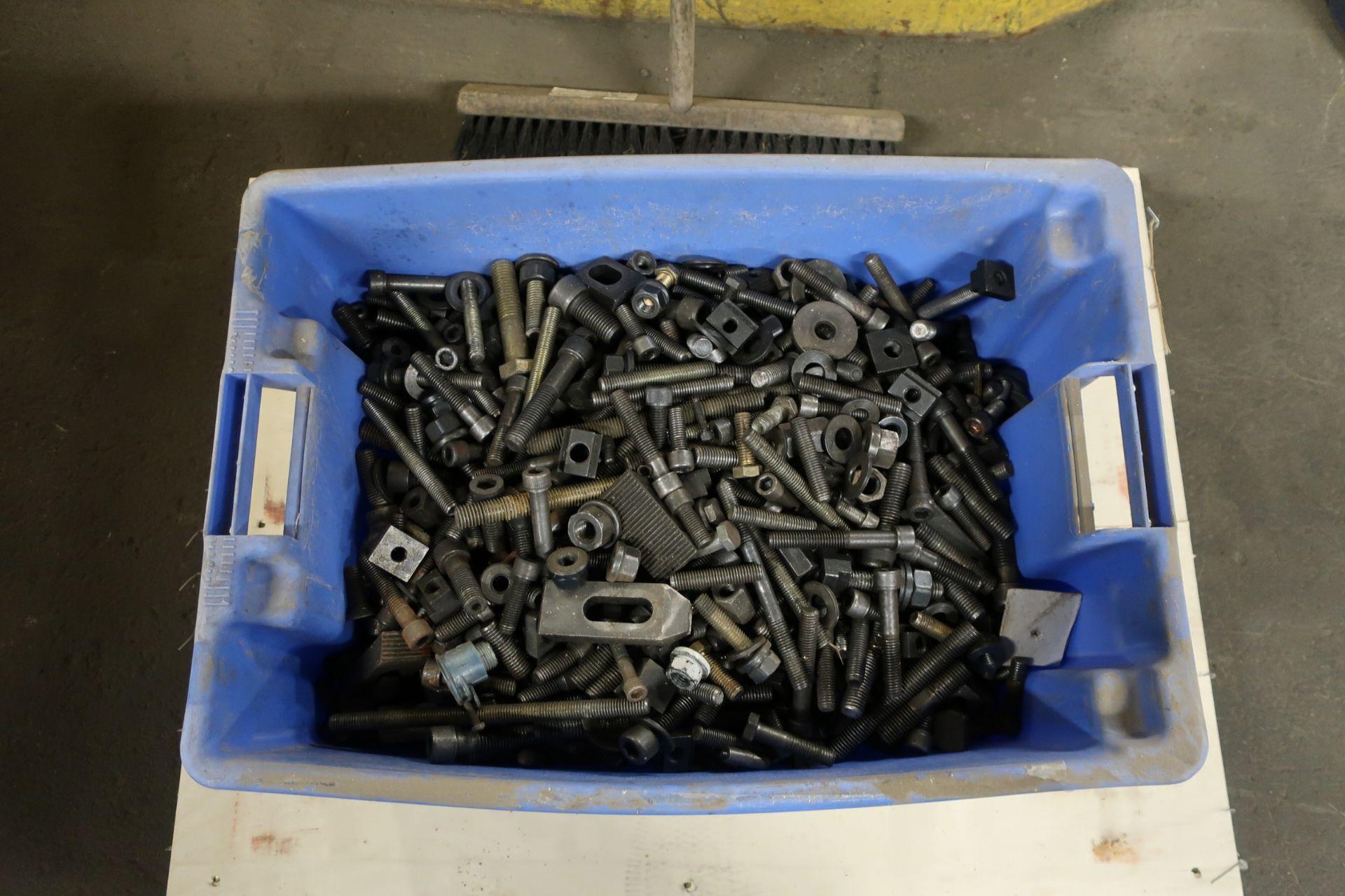 Lot 307 - Lot of Heavy Duty Tie Downs in bin