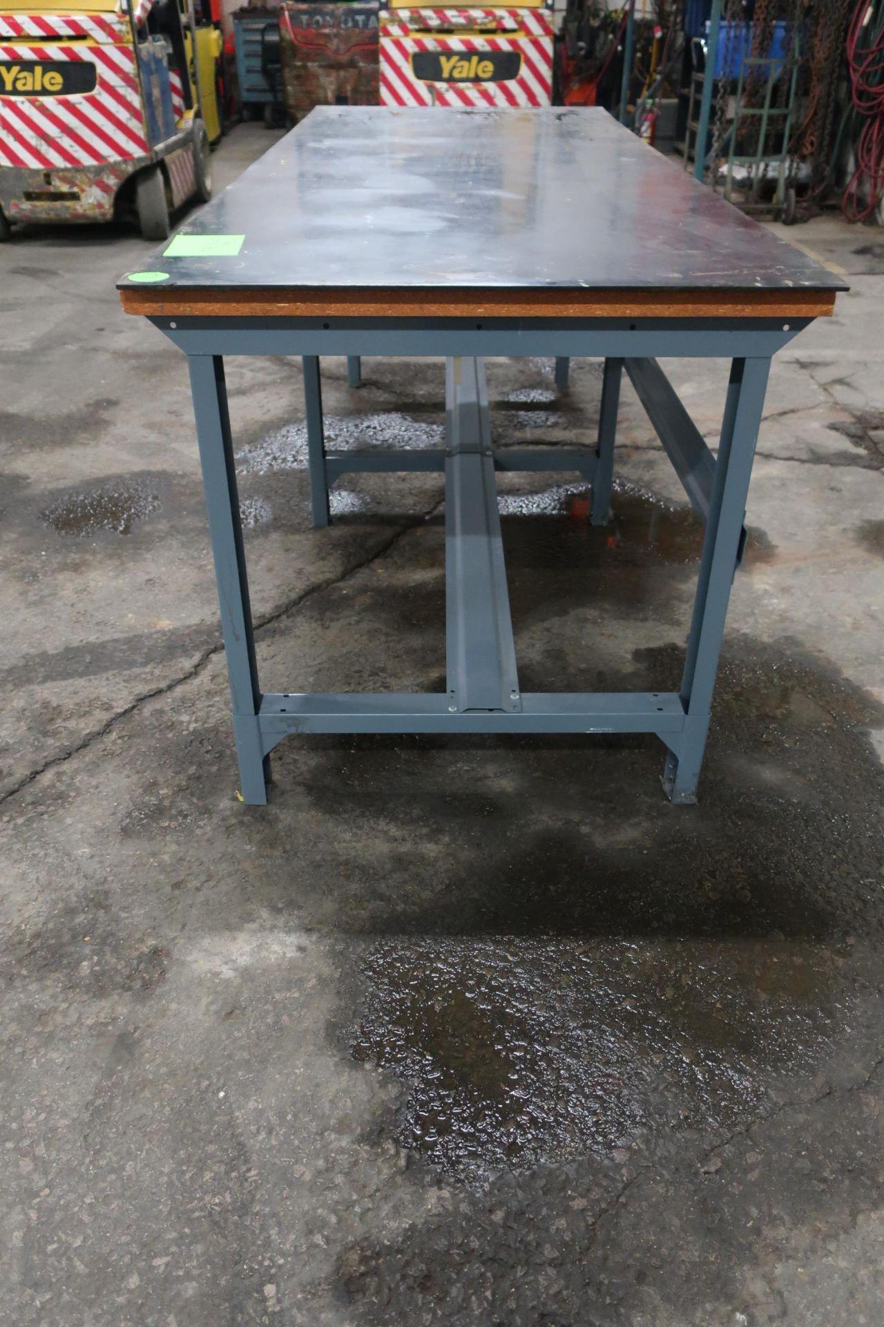 Lot 306 - Heavy Duty Work Table